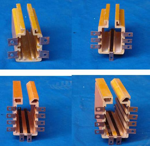 DHG多极铜排导管式滑触线
